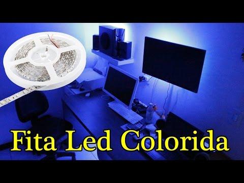 Como Ligar Fita Led Colorida RGB - L Gyn