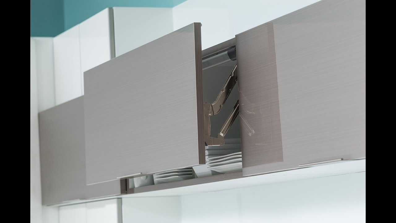 Cabinet Lift Door Tension and Hinge Adjustment Guide by