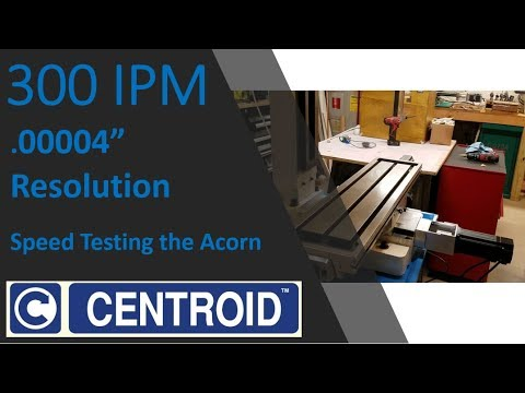 ProLight Mill | Centroid Acorn CNC Conversion by Chris Itterly