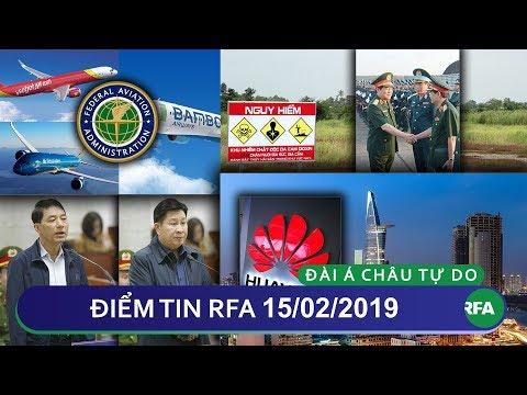Điểm tin RFA tối 15/02/2019   Hàng Không Việt Nam được phép bay thẳng đến Mỹ
