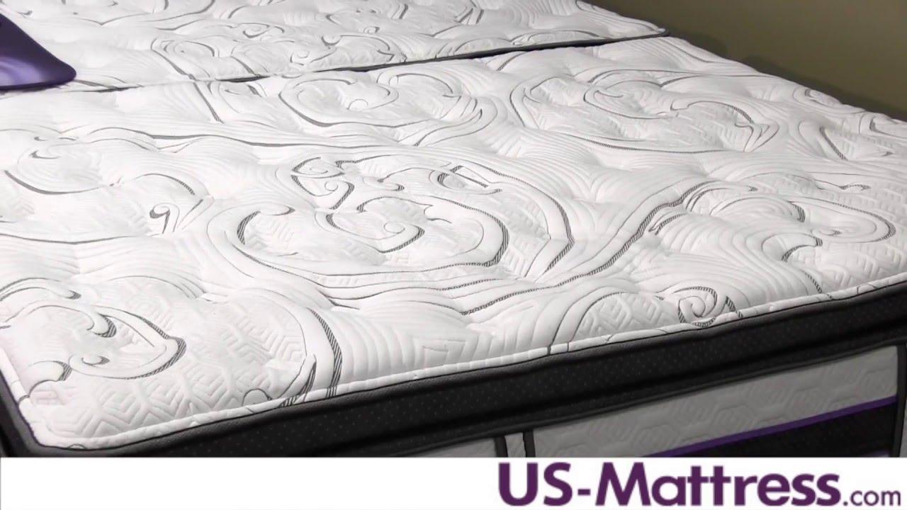 Serta iseries pillow top king mattress