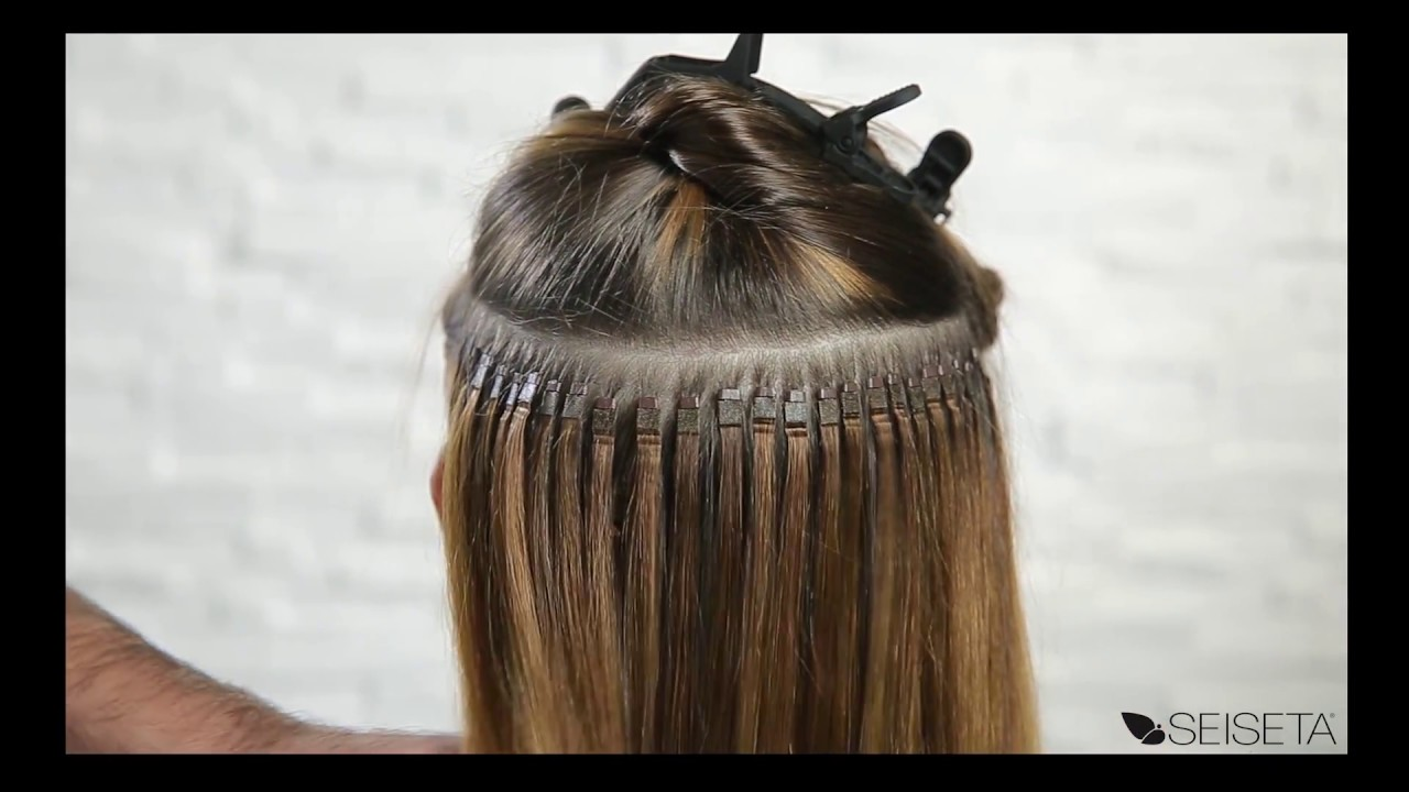 Flat Ring On Hair Extension System Youtube