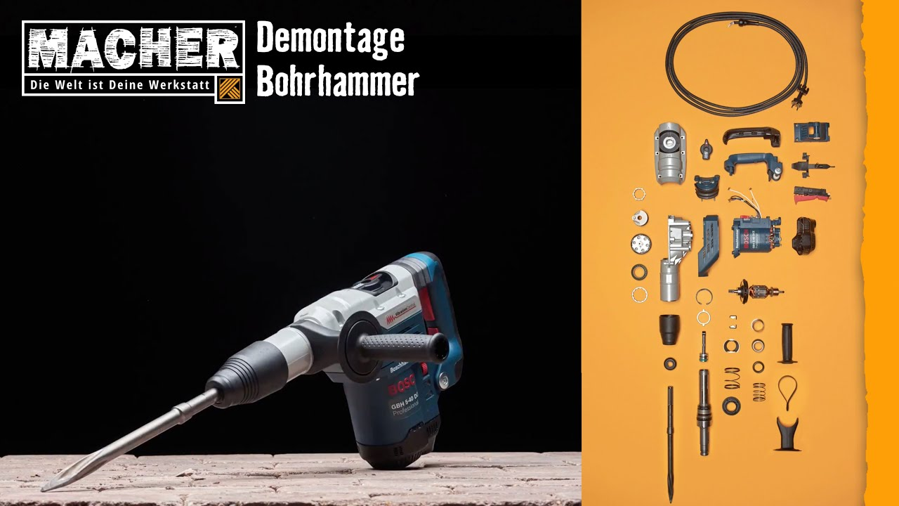 bosch bohrhammer pbh 30002 fre bohrmaschinen t. Black Bedroom Furniture Sets. Home Design Ideas