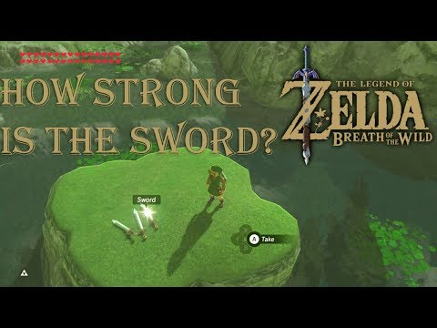 The legend of Zelda: Breath of the wild - Testing out the Original Sword