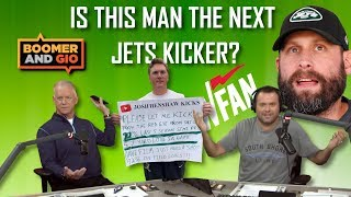 Could Josh Henshaw be the next kicker for the New York Jets? - Boomer & Gio