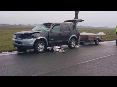 Śmiertelny wypadek na trasie Brzeg-Oława. Nie żyje 31 latek z powiatu brzeskiego