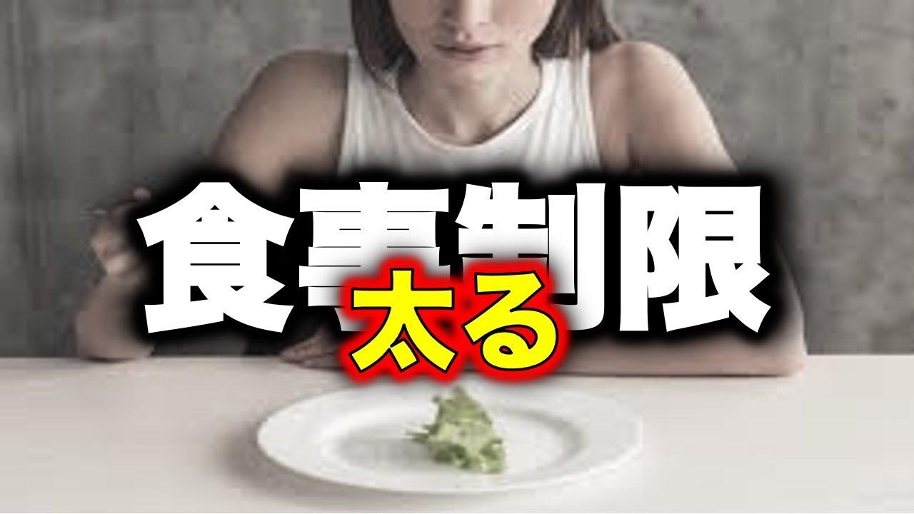 【ダイエット】知らないと最悪!太る食事制限とは