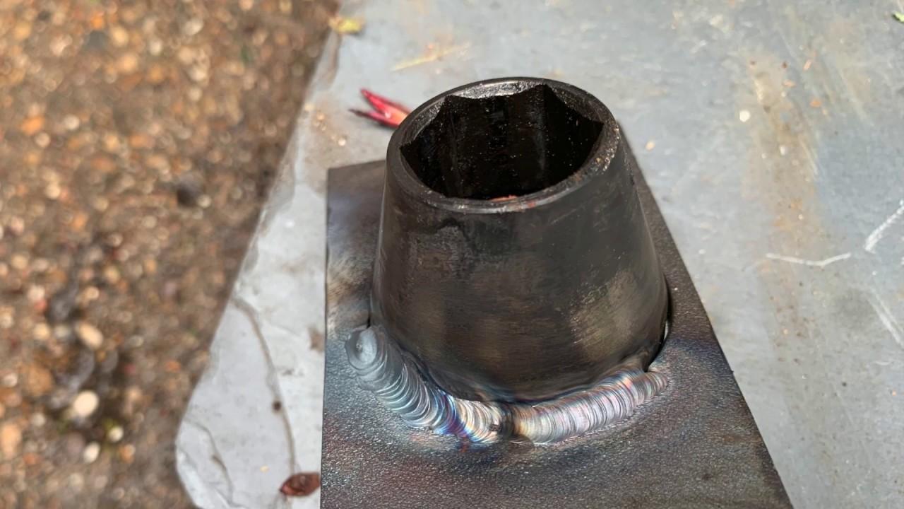 part 2 mig welding cast iron inline 6
