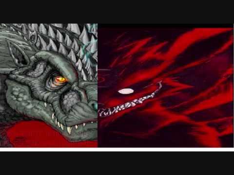 godzilla vs kyuubi monster war