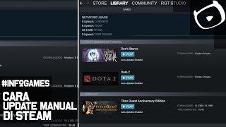 Cara Update Game Manual di Steam Valve #game #PC #indonesia