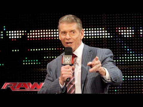 Mr. McMahon Hat Große Pläne Für Das Erste Raw 2016: Raw – 28. Dezember 2015
