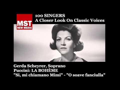 100 Singers - GERDA SCHEYRER