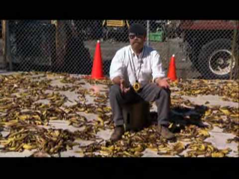 Make Your Own Car >> MythBusters - Banana Peel Slip - YouTube