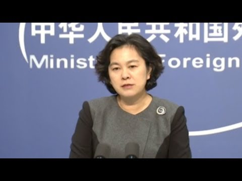 Chinese FM Hits Back At Criticism Of HK Police
