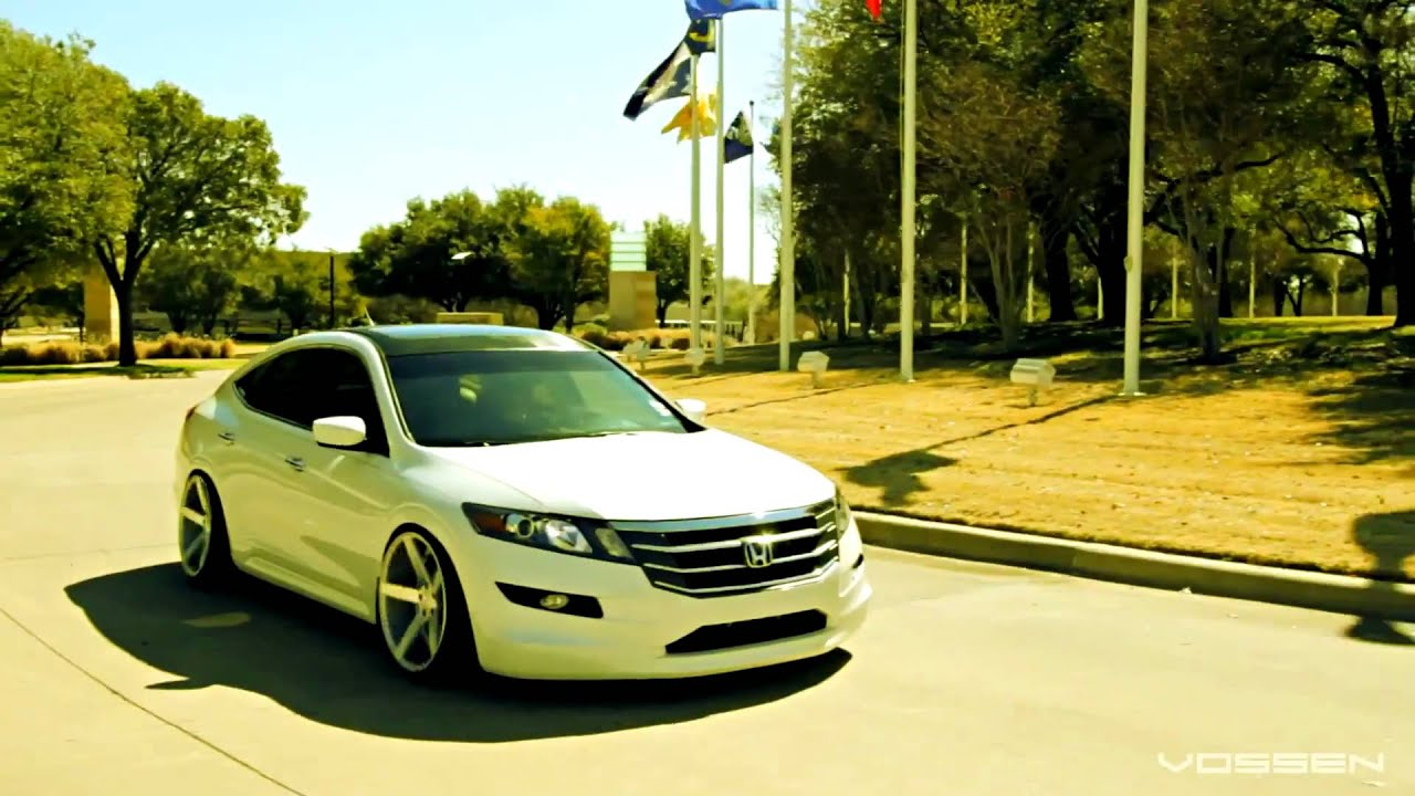 Honda Accord Crosstour On 20 Vossen Youtube
