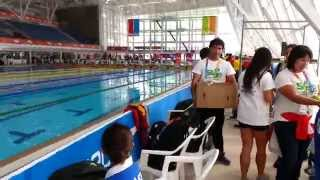 1ros Juegos ParaSuramericanos Santiago 2014 - Natación