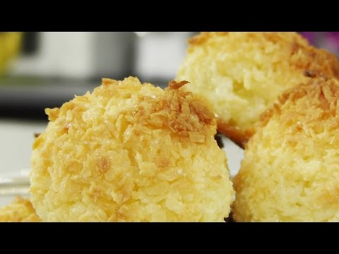 Кокосовое печенье Роше коко (Rochers Coco) видео рецепт