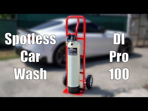 Spotless Car Wash Deionized Water System | RV-Mods DI Pro 100 Compact