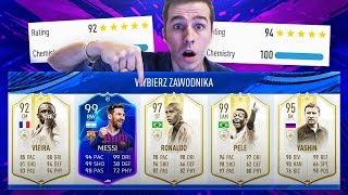 RONALDO NAZARIO 97 + PELE 99! NAJRZADSZA KARTA W DRAFCIE! | FIFA 19 ULTIMATE TEAM