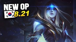 8 New OP Builds and Champs in Korea Patch 8.21 SO FAR (League of Legends)