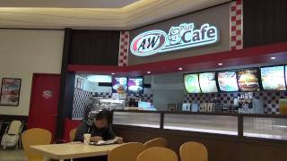 沖縄でハンバーガーのファーストフードといえば、A&Wですよね?
