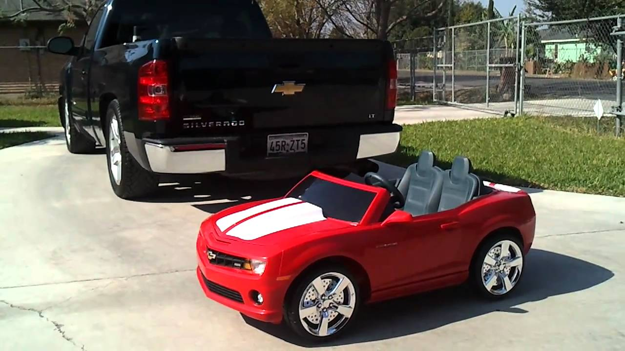 2010 camaro ss power wheels youtube. Black Bedroom Furniture Sets. Home Design Ideas