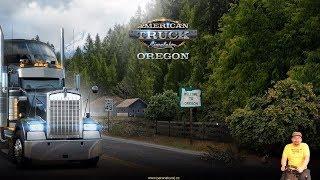 American Truck Simulator - Oregon | Gameplay DLC novinky s volantem G920 | PC | CZ 1440p