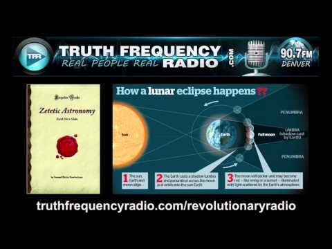 Flat Earth and Lunar Eclipses by Dr  Samuel Rowbotham 1865 HD