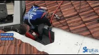 Çatı Yağmurluk Gideri Tıkanıklığı Açma Servisi