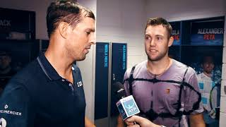 Moet Moment: Sock/Bryan Win The Nitto ATP Finals 2018