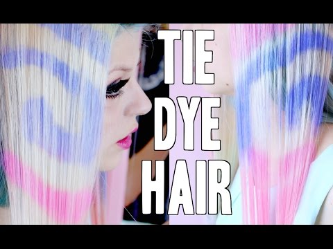 Tie Dye HAIR Tutorial