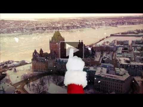 Joyeuses fêtes de l'Office du tourisme de Québec