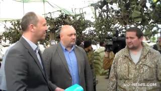 Andriy Parubiy meeting Mikola Volkov, who was involved in the Odessa-Pogrom (29.4.2014)