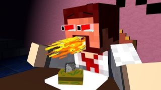 COOKING BATTLE SHOW ! Creeper - Craftronix Minecraft Animation