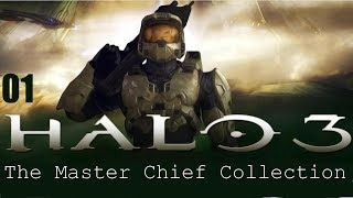 Прохождение Halo 3 (Halo: The Master Chief Collection) на русском #01