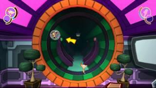 Phineas y Ferb - A través de la 2ª Dimensión (Wii) Escenas en Español - Parte 3 (fin)