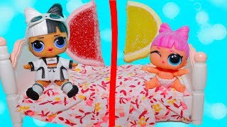 - Куклы лол 3 серия 2 волна не могут поделить сладости Мультик про Игрушки и СЮРПРИЗЫ TOYS AND DOLLS