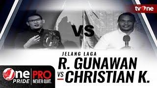 "Video Jelang ""Title Fight"" Rudy Gunawan (Ahong) vs Christian Kasino - One Pride Pro Never Quit #17 download MP3, 3GP, MP4, WEBM, AVI, FLV Maret 2018"