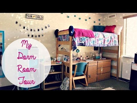 MY COLLEGE DORM ROOM TOUR | Tasha Farsaci