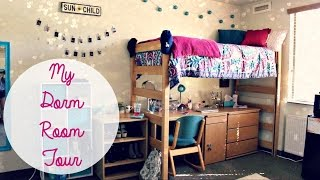 my college dorm room tour