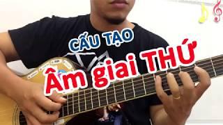 Cách ghi nhớ Âm giai THỨ đơn giản nhất dành cho người mới học đàn guitar