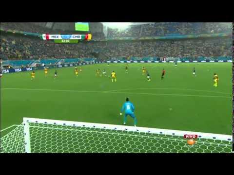 Gol de Oribe Peralta contra Camerún (TDW 730 AM)