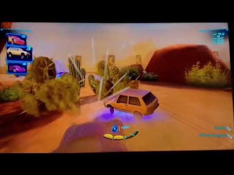 Cars 2 The Video Game | Victor Hugo-Canyon Run |