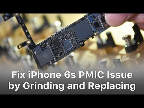 Fix iPhone 6s Won't Turn On - PMIC Grinding and Replacing