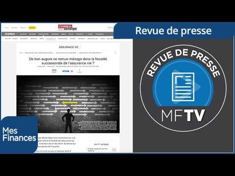 Revue de presse semaine 03 : assurance vie, épargne réglementée et immobilier