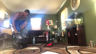 Vacuum challenge aka suck yo sole