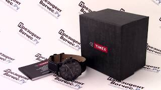 Часы Timex TW2P95900 - видео обзор от PresidentWatches.Ru