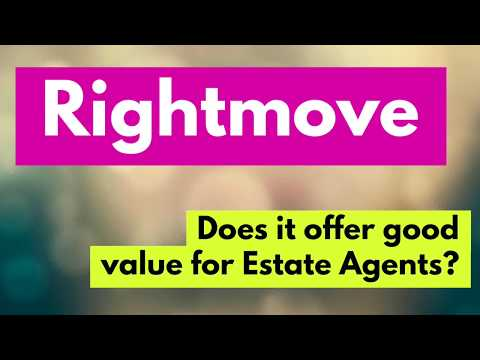 RIGHTMOVE - Is It Worth The Money To Estate Agents?