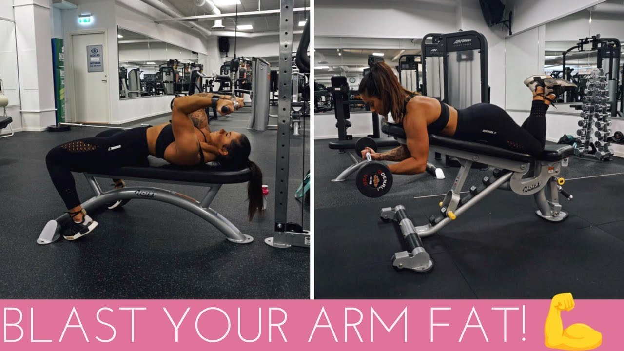 TONE & SHAPE YOUR ARMS   BICEPS & TRICEPS WORKOUT
