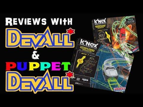 K'NEX Typhoon Frenzy and Supernova Blast Roller Coasters ...